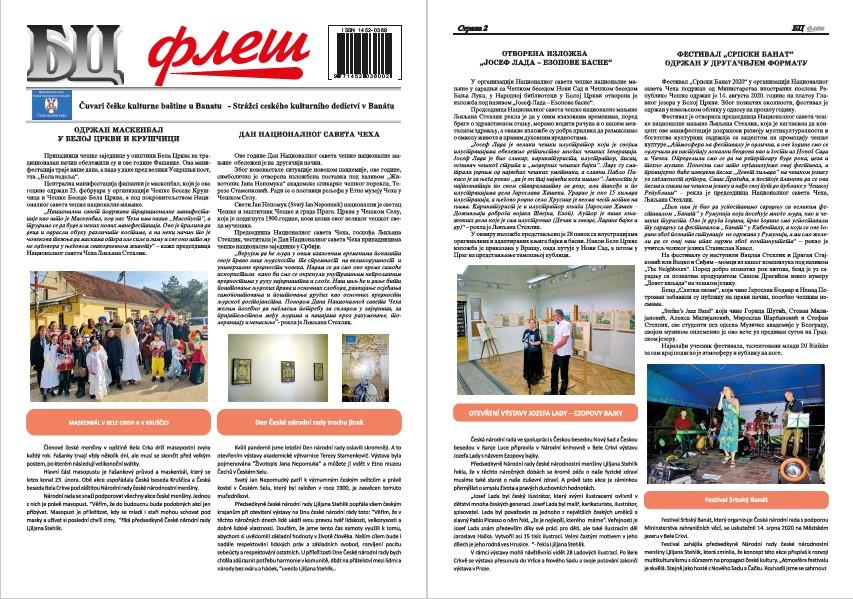 BC Fleš – Dodatak 3 – Očuvanje čeških običaja i kulture
